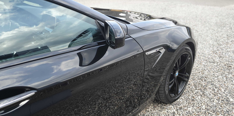 BMW M6 Gran Coupe behandlet hos Bilpleje Hadsten