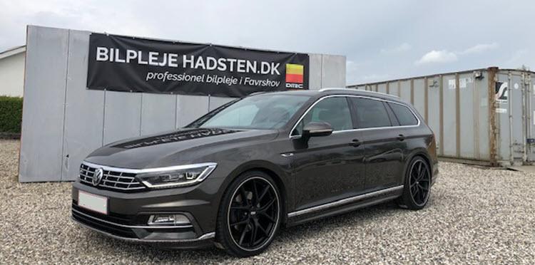 VW Passat 2.0 TSI R-liner behandlet hos Bilpleje Hadsten