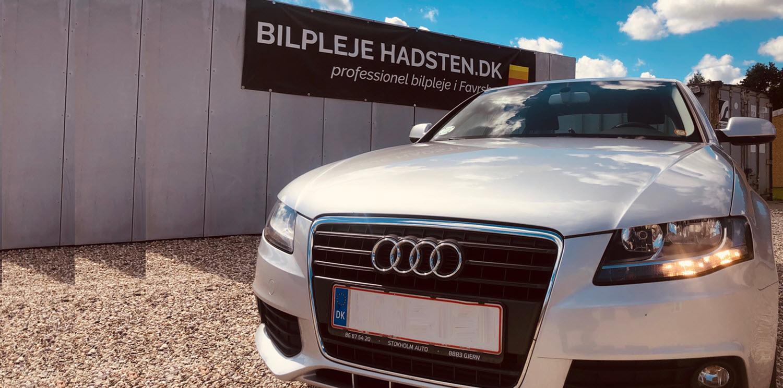 Audi A4 TFSI behandlet hos Bilpleje Hadsten