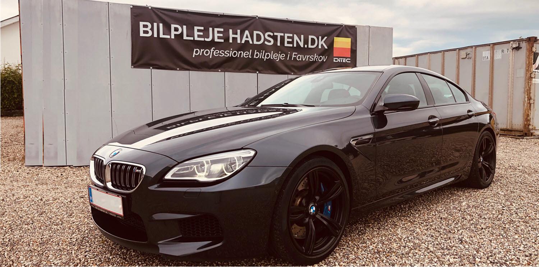 BMW M6 V8 behandlet hos Bilpleje Hadsten
