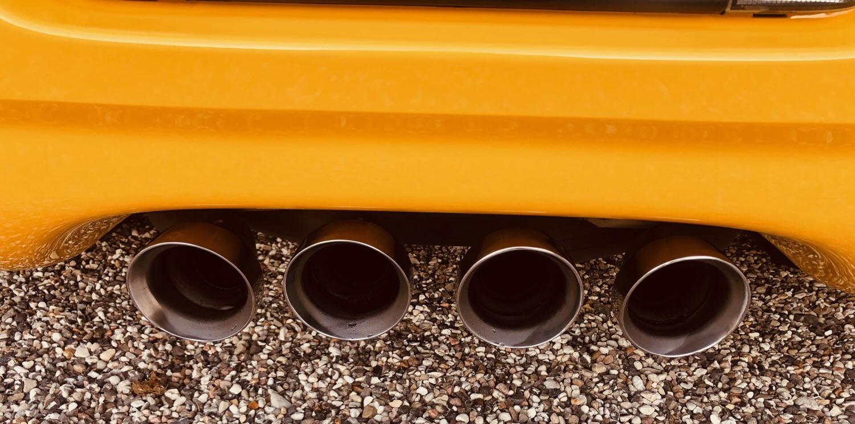 Chevrolet Corvette behandlet hos Bilpleje Hadsten
