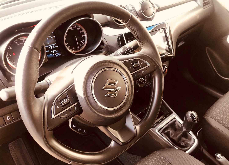 Suzuki Swift behandlet hos Bilpleje Hadsten