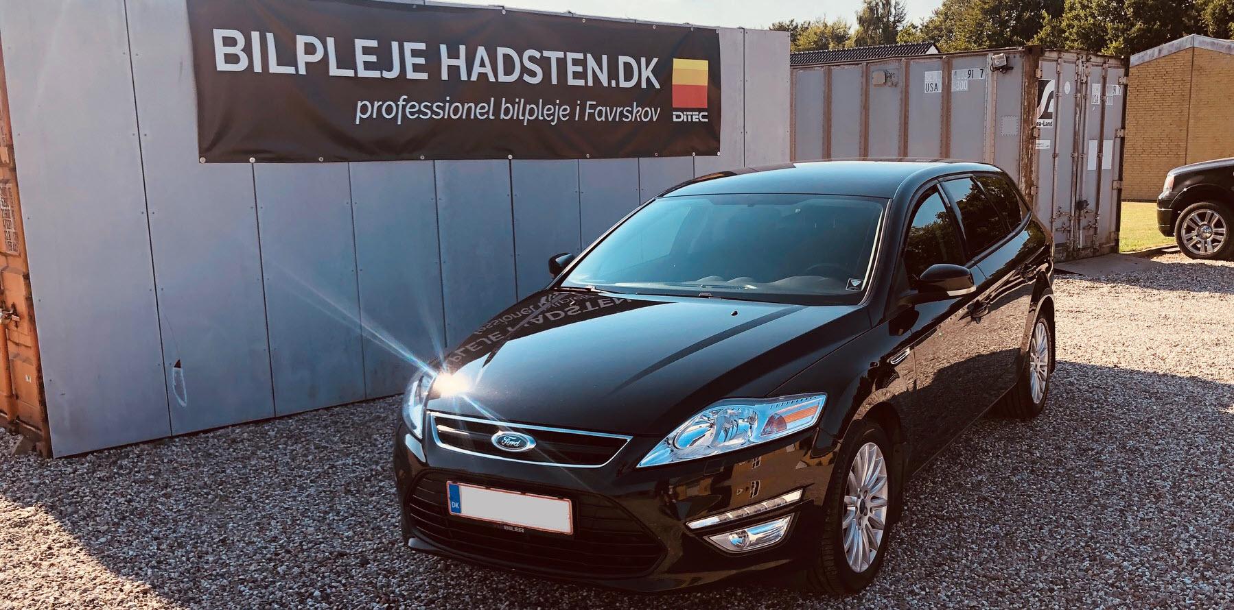 Ford Mondeo - Behandlet hos Bilpleje Hadsten