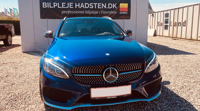 Mercedes - Behandlet hos Bilpleje Hadsten