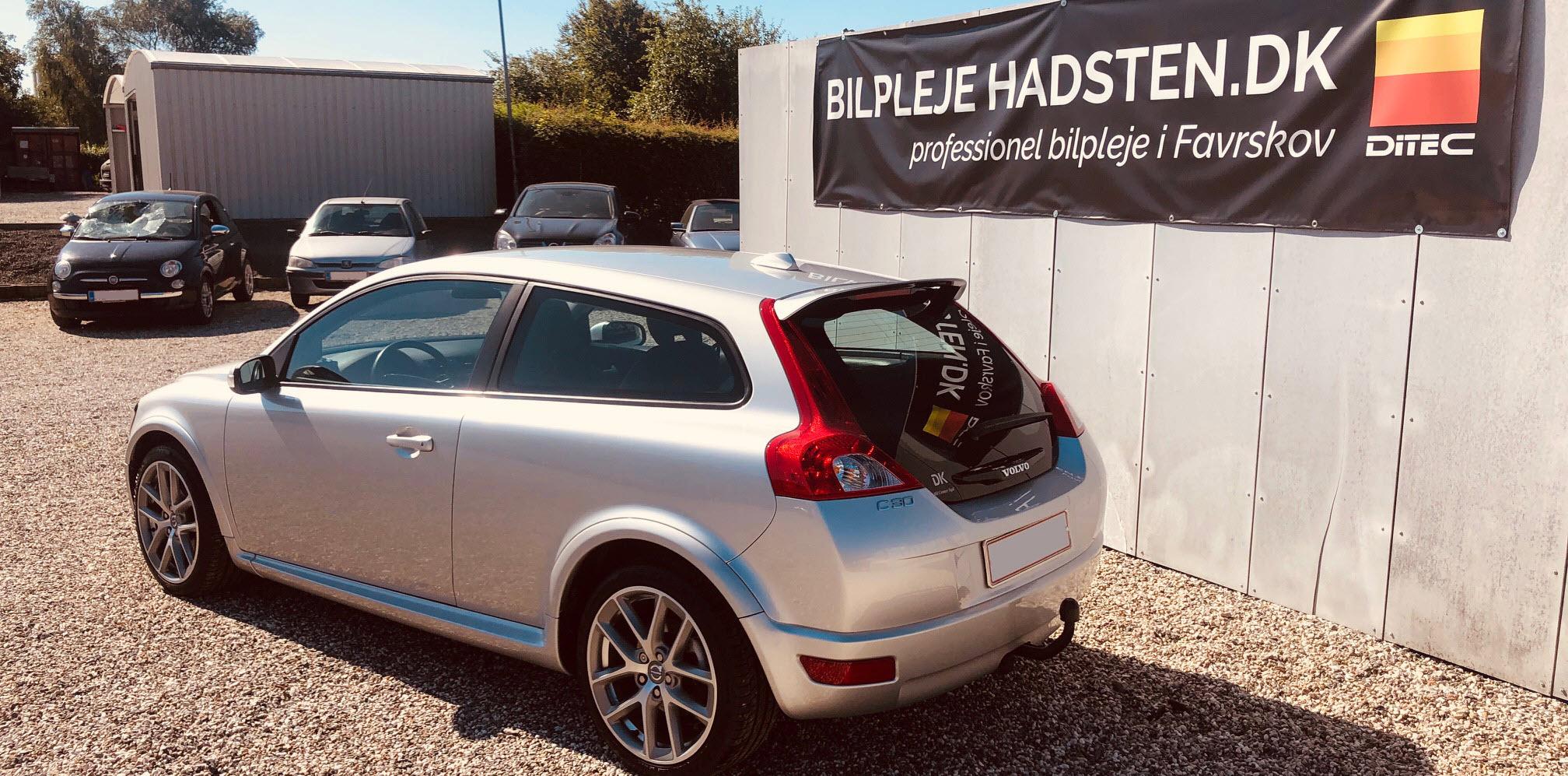 Volvo C30 - DITEC Light behandlet hos Bilpleje Hadsten
