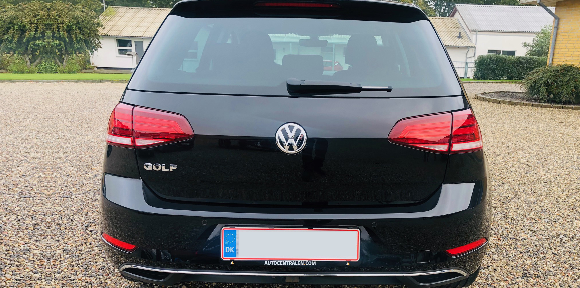 VW Golf - Ditec Ultra behandlet hos Bilpleje Hadsten