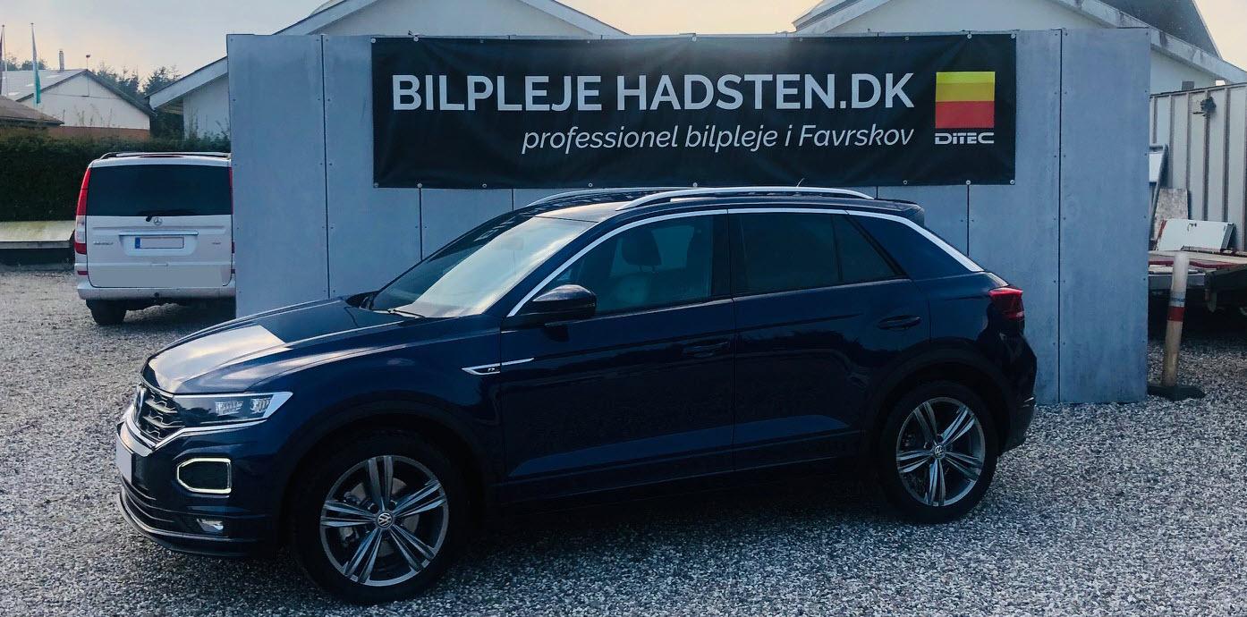 VW T-Roc 2,0 TSI behandlet hos Bilpleje Hadsten